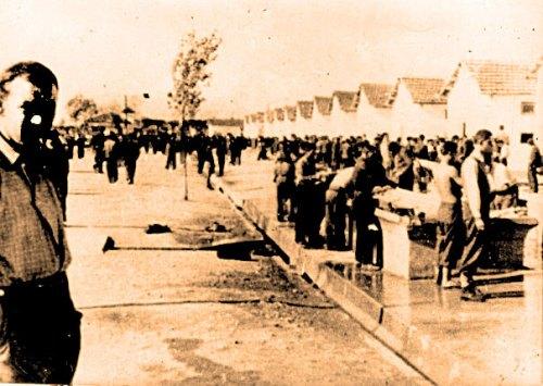 Lavadero del campo de concentración
